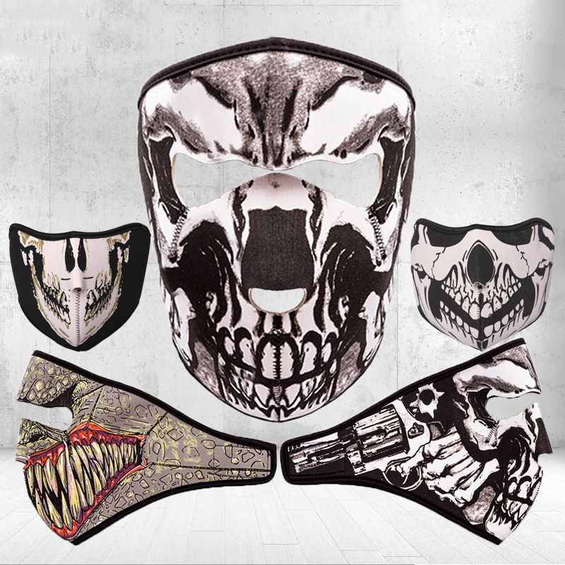 2017 New Come Cycling Face Mask Full&Half Face Mask For Running Riding Lightweight Outdoor Sports Dust-Proof Unisex Bandana