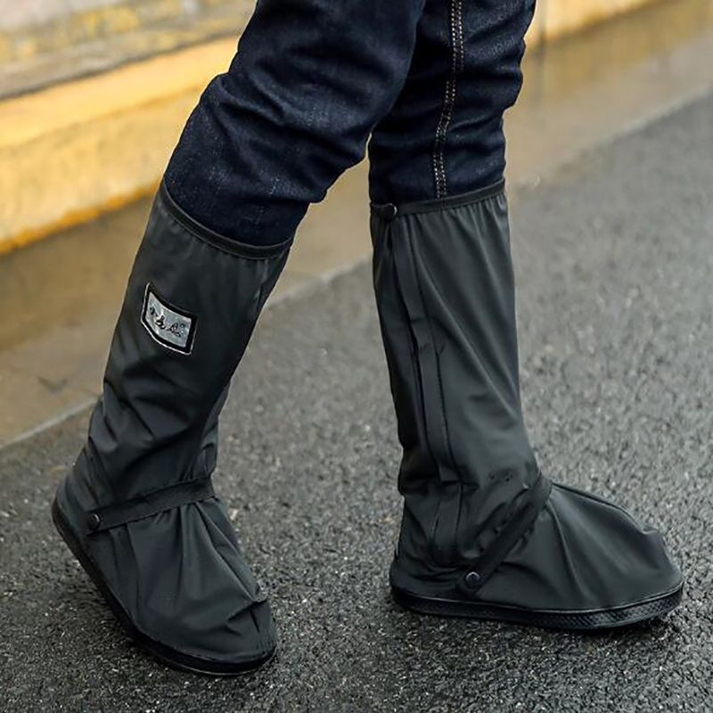 MOTRAVEL Motorcycle Waterproof Rain Shoes Covers Scootor Riding Cycling Non-slip Boots Covers Adjusting Tightness Shoes Cover