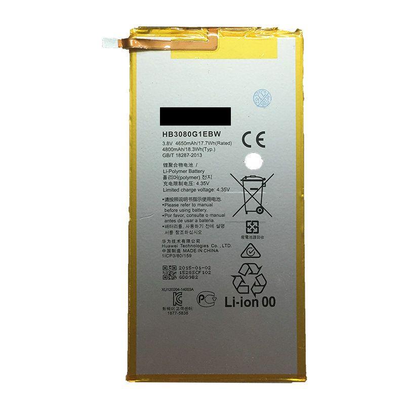 4800 mAh HB3080G1EBC/HB3080G1EBW für Huawei Honor S8-701u Ehre S8-701W Mediapad M1 8,0 Batterie Bateria