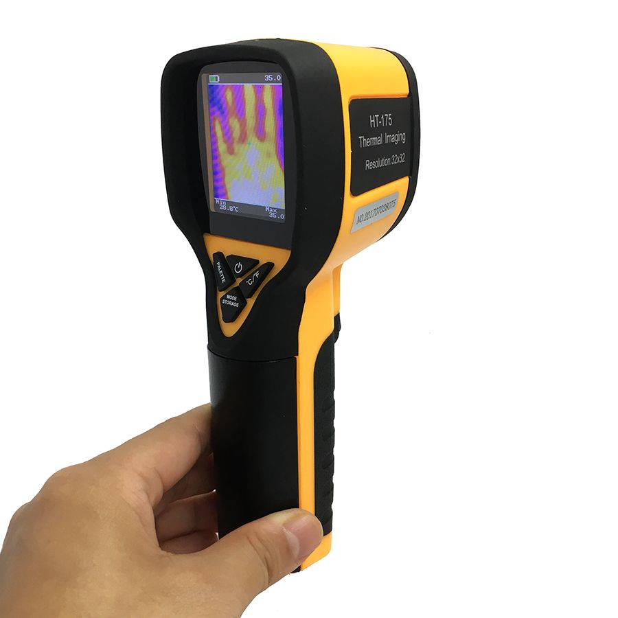 HT-175 digital thermal camera imager imaging camera IR infrared thermometer -20-300 degree 32X32