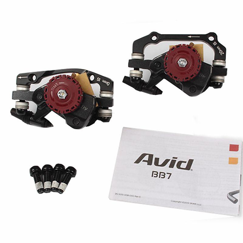 AVID BB7 MTB Mountain Bike Mechanical Disc Brakes Calipers Bicycle Parts 1 Pair/2pcs Free Shipping