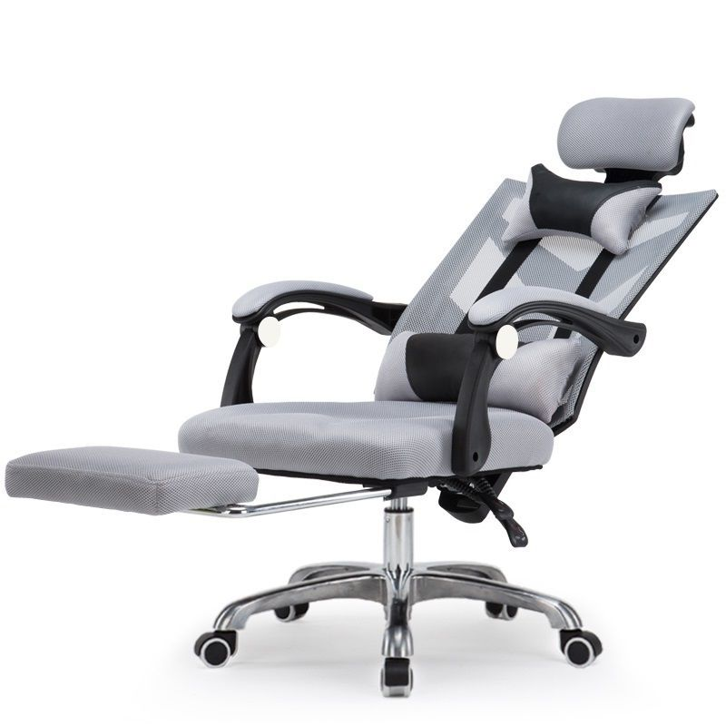 WB# 3309 Black and white adjustable seat office gaming leisure game household boss computer chair