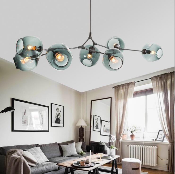 Lindsey Adelman Chandeliers modern novelty magic natural tree branch suspension pendant lamp for dinning room LED Lighting lamp