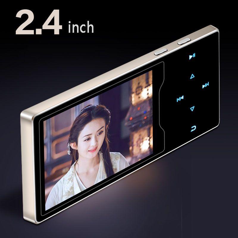 Neue produkt Metall Mp4 Player 2,4 inch HD Große Farbe Bildschirm Spielen Hohe Qualität Video-player Radio Fm E-buch Musik player mp3 mp5