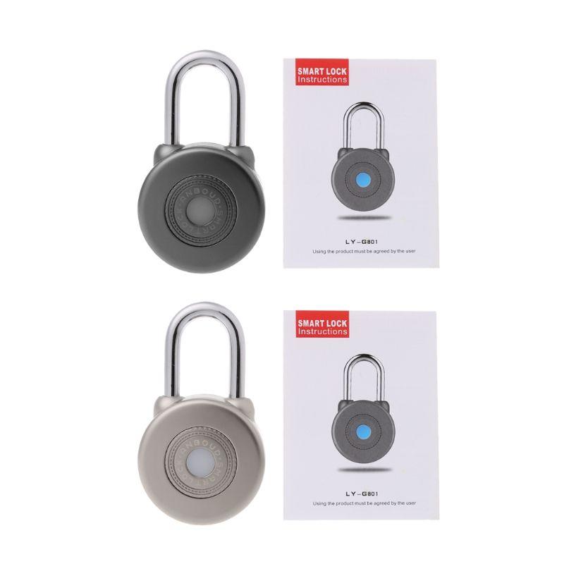 Bluetooth Smart Lock Wireless Control Smart Bluetooth Vorhängeschloss Master Schlüssel Arten Schloss mit APP Steuer