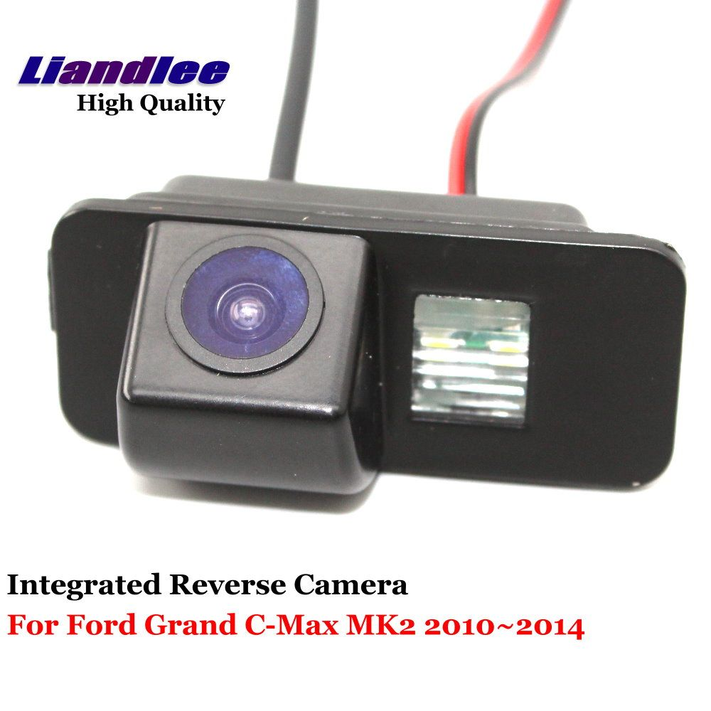 Liandlee Car Rearview Reverse Camera For Ford Grand C-Max MK2 2010~2014 Rear View Backup Parking Camera / CCD HD Integrated