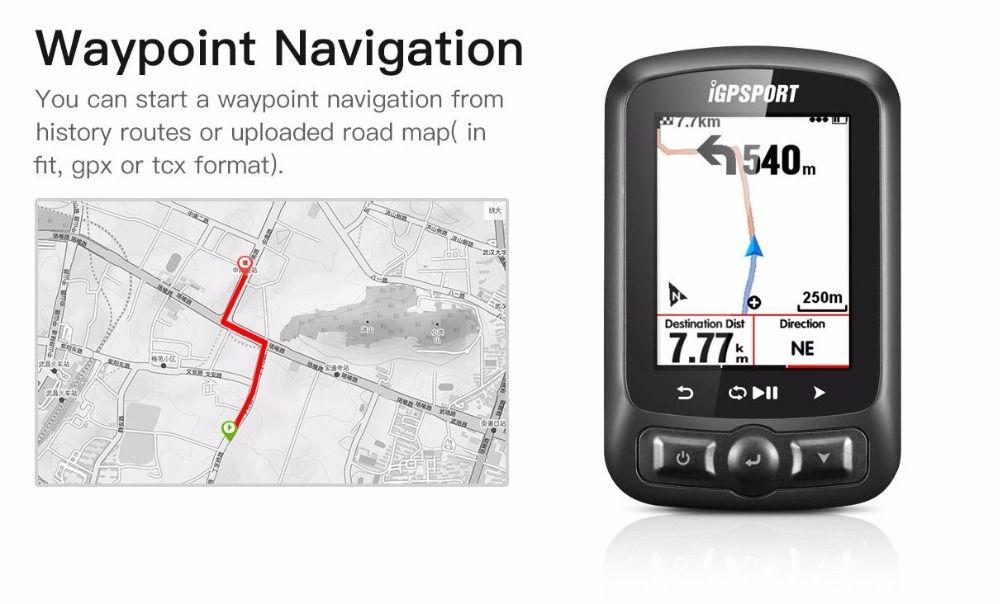 Neue IGPSPORT ANT + GPS IGS618 Bike Bluetooth Drahtlose Stoppuhr Tachometer Wasserdichten IPX7 Radfahren Fahrrad Tacho Computer