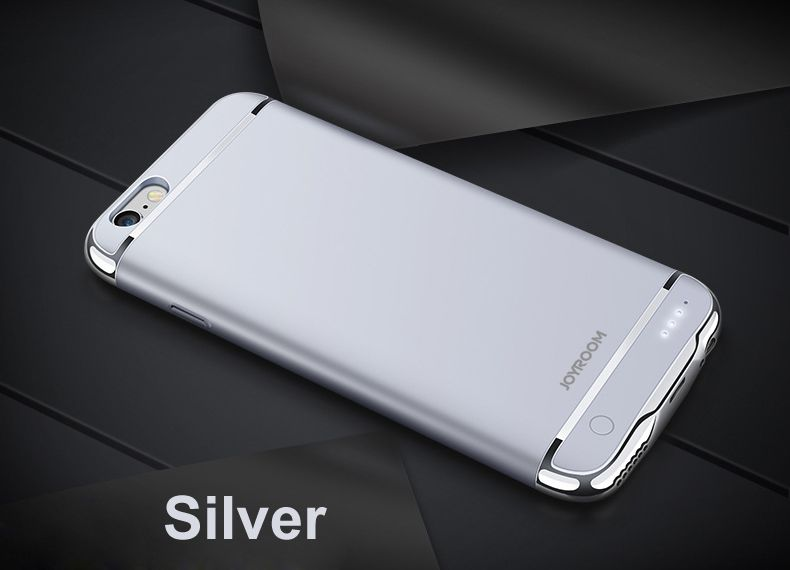 Joyroom Rechargeable External Backup Battery Case For iPhone 6 6 plus Power Bank Phone Battery Case for iphone 7 7 plus