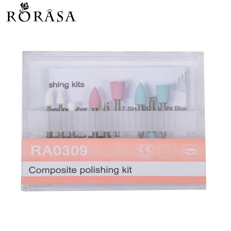 Dental Composite Polishing For Low-Speed Handpiece Contra Angle Kit Oral Hygiene Teeth Polishing Kits