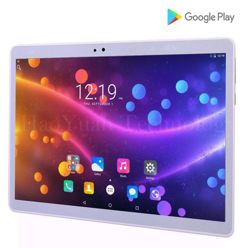 2018 Nouveau 10 pouce Tablet Android Tablet PC 4g Tablet pc 32 gb ROM appel téléphonique comprimés 10 pour enfants WIFI GPS coque Métallique