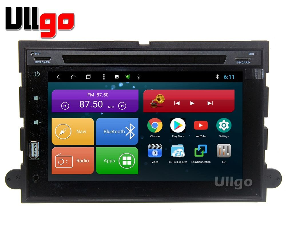 8 inch Octa Core Android 7.1 Car Head Unit for Ford Expedition Mustang Fusion Explorer Edge with BT Radio RDS Mirror-link Wifi