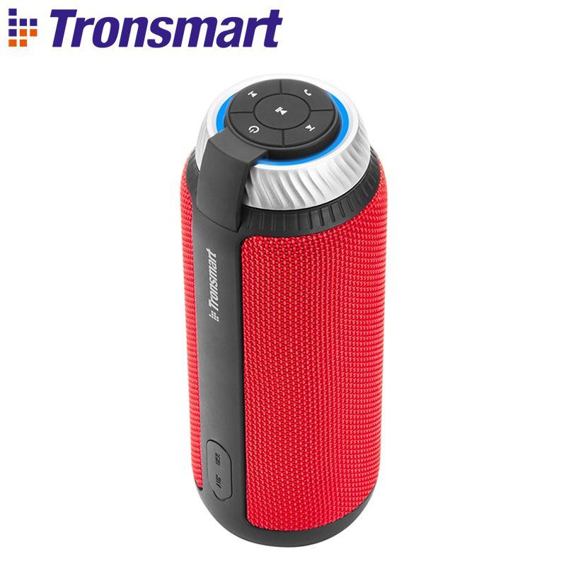 Tronsmart Élément T6 Bluetooth Haut-Parleur 25 w Portable Haut-Parleur avec 360 Stéréo Son Soundbar Colonne pour La Musique MP3 Lecteur