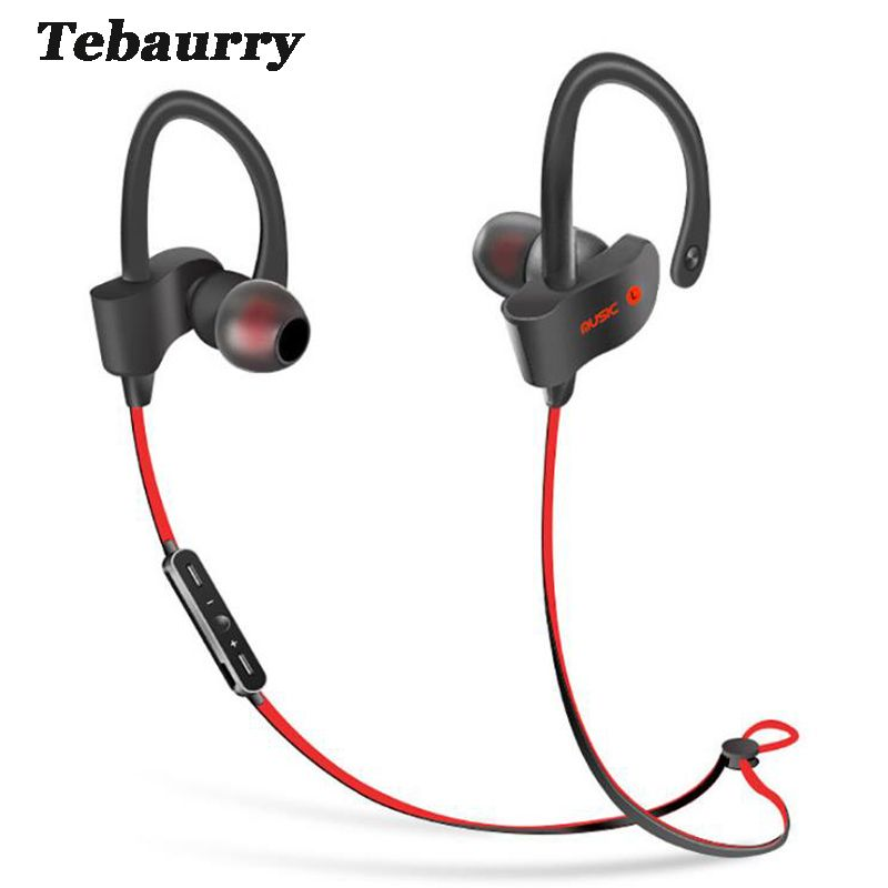 Tebaurry S2 Bluetooth Earphone Wireless Headphone Bluetooth Headset Sport Stereo <font><b>Super</b></font> Bass Earbuds With Microphone for Running