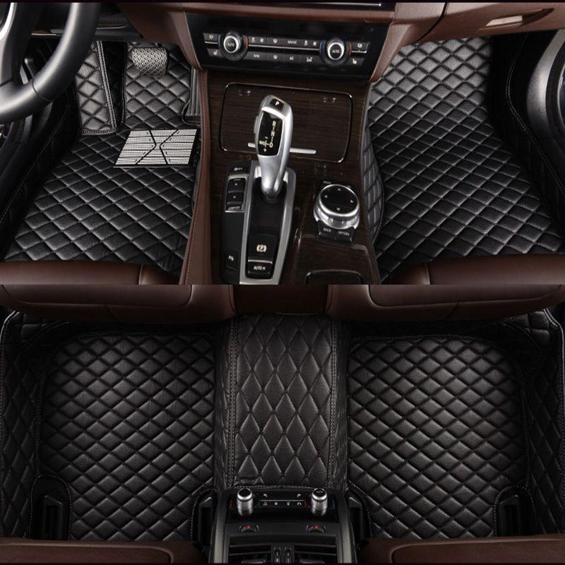 Custom car floor mats For Renault all model clio Kadjar Megane2 3 S.R Captur Latitude Fluence logan laguna car accessories