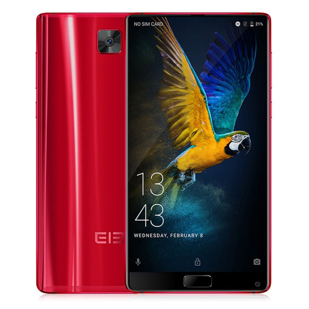 Elephone S8 6.0 Inch 4G Smartphone 4000mAh Helio X25 2560x1440 Deca Core Android 7.1 Cellphone 4GB 64GB Fingerprint Mobile Phone