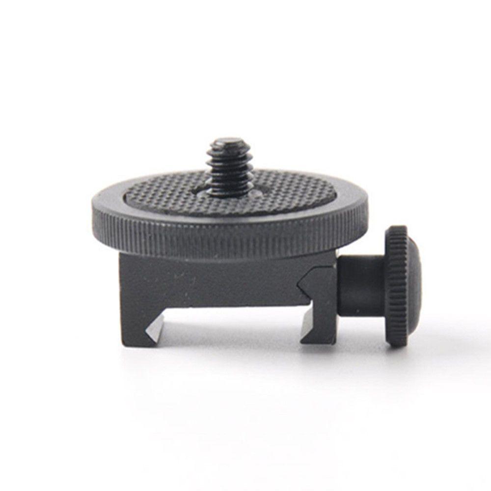 Picatinny Côté 20mm Fusil Rail Support Trépied pour Sony GoPro Hero, Smartphone, DV, Xiaomi, SJCAM Caméra D'action Chasse Accessoire