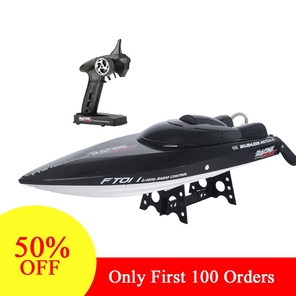 Feilun FT011 2.4G High Speed RC racing Boat 55km/h 150m Control Distance RC toys Fast Ship With Water Cooling System