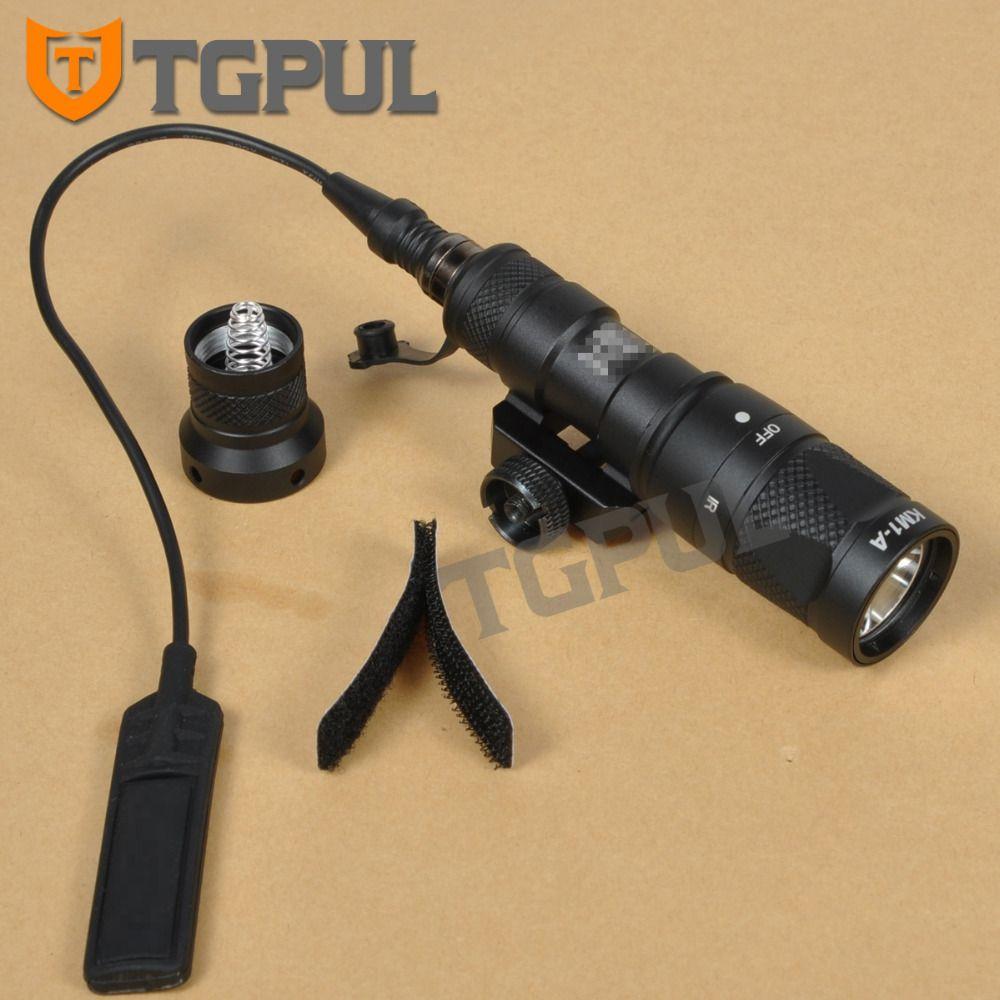 TGPUL M300 M300V Taktische Taschenlampe Gun Waffe Licht Military Jagd Strobe Taschenlampe Für 20mm Weber Picatinny Schiene AR15