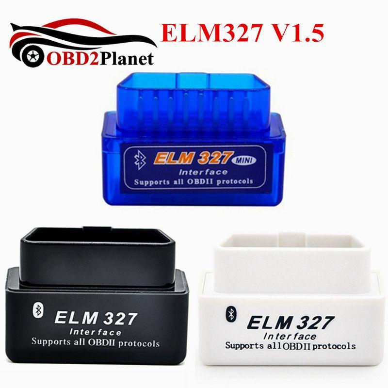 Новое поступление Авто сканер pic18f25k80 чип Аппаратные средства V1.5 Супер Мини Bluetooth ELM327 V1.5 OBD2 ELM 327 Bluetooth Android Крутящий момент