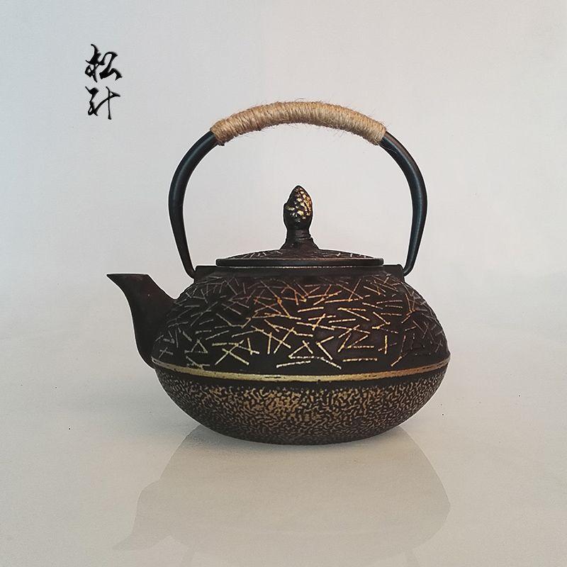 Livraison gratuite Mode style bouilloire, cuisine potable ware fonte thé pot, 900 ml Chinois traditionel théières