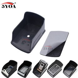Waterproof Cover For Rfid Metal Access Control Keypad Rain Cover Black Rainproof Shell Access Controller