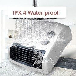 3 vitesse ménage mini-chauffage salle de bains IPX4 étanche mural électrique ventilateur chaud potable ventilateur électrique énergie de chauffage économie