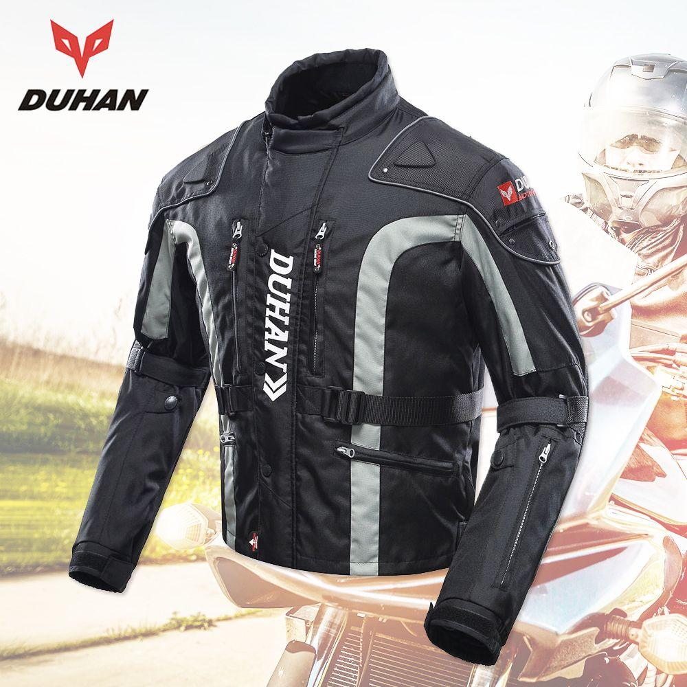 DUHAN Motorrad Kleidung Motocross Ausrüstung Getriebe Männer Motorrad Jacke Baumwolle Unterwäsche Kalt-proof Moto Jacke Oxford Tuch