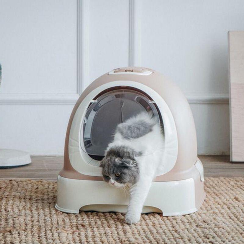 Katze Geschlossen Käfer Wc Geschlossen Katzen Sandkasten Bettwäsche Pet Ausbildung Wc Katzen Bettpfanne Haustier Abnehmbaren kätzchen Wurf Box liefert