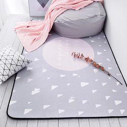 Bermimpi Karpet Dijual 100X150 Cm Menebal Lembut Kamar Anak Bermain Mat Modern Kamar Tidur Karpet Besar Merah Muda karpet untuk Ruang Tamu