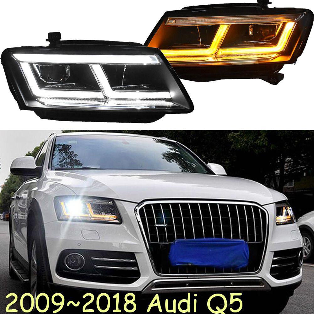 LED, 2009 ~ 2018, Auto Styling für Aude Q5 Scheinwerfer, auto zubehör, Q5 Nebel lampe, a4, A5, A8, Q7, S3 S4 S5 S6 S7 S8, Q5 kopf lampe