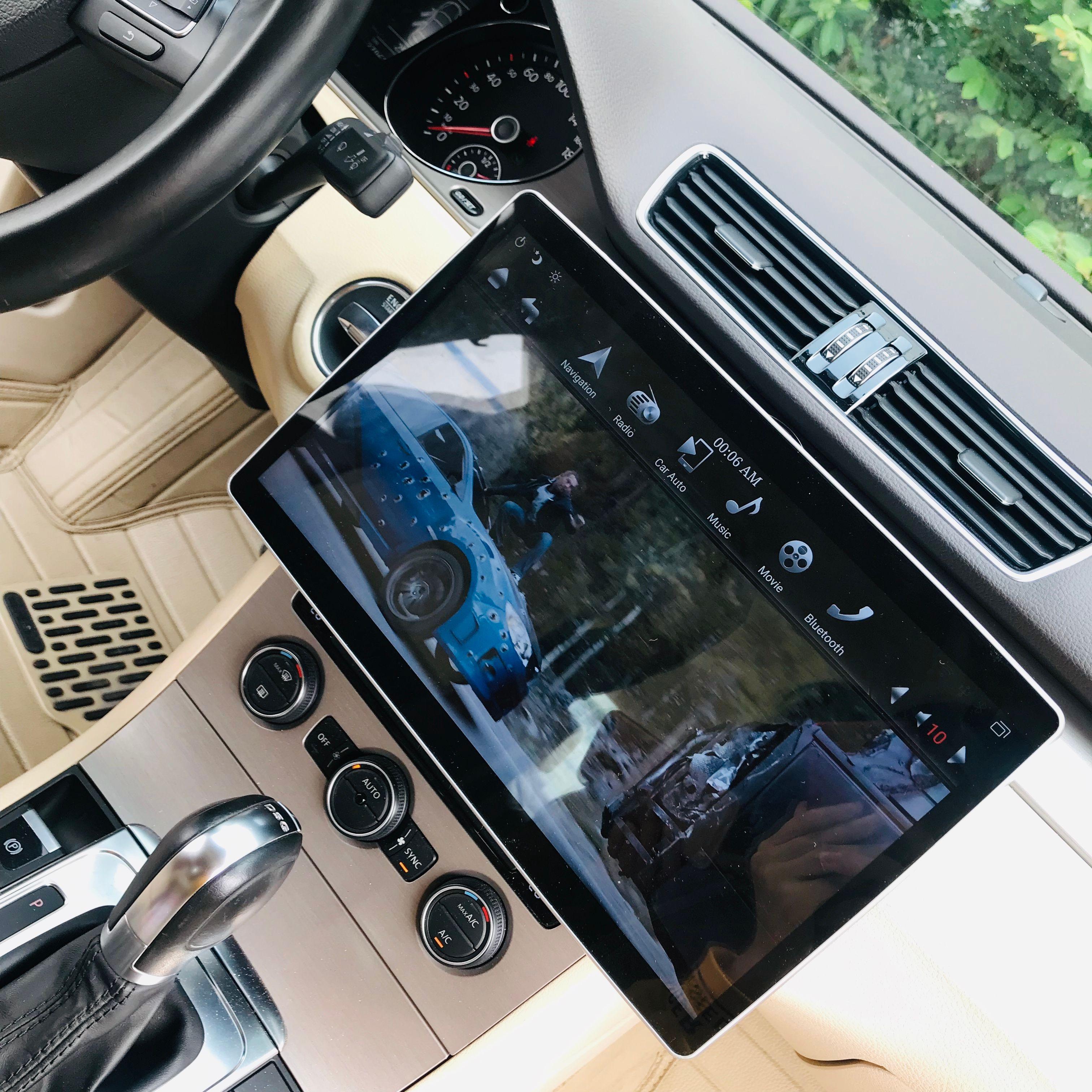8 Core 64 GB rom Android 9.0 Navirider Auto radio GPS Navigation 9,7 ''Universal radio up down einstellen winkel bluetooth video-Player