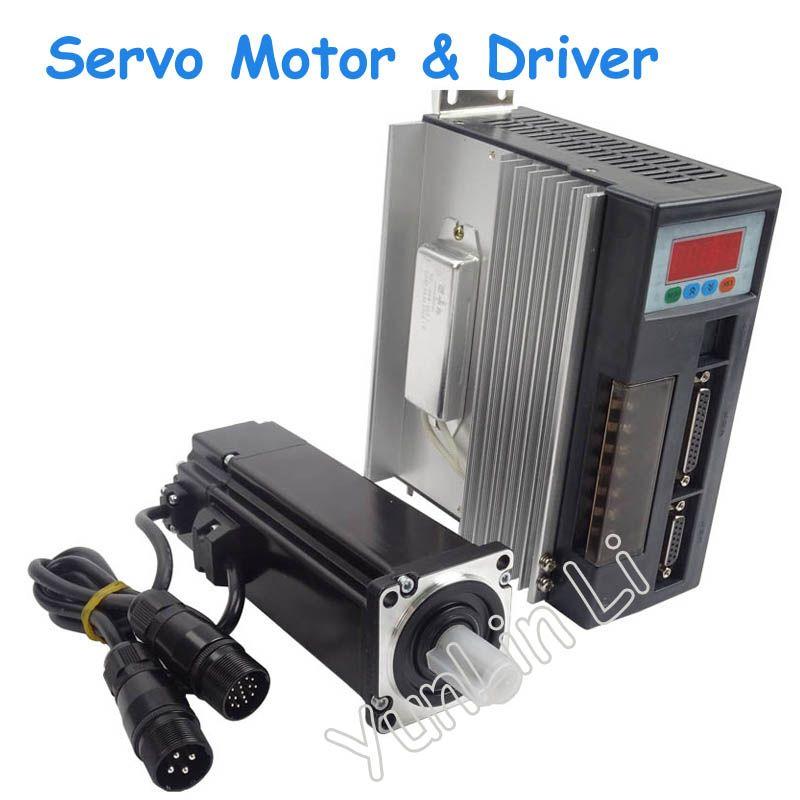 1 Satz Hochwertigen AC-Servomotor 1.91N.M 600 Watt 3000 RPM 60ST mit Fahrer System 60ST-M01930