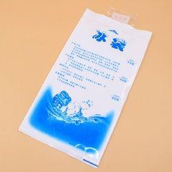 10 шт./лот дешевые изолированные в-индивидуальные многоразовые сухой охлаждающий ледяной пакет гелевая сумка-холодильник для ланча коробка ...