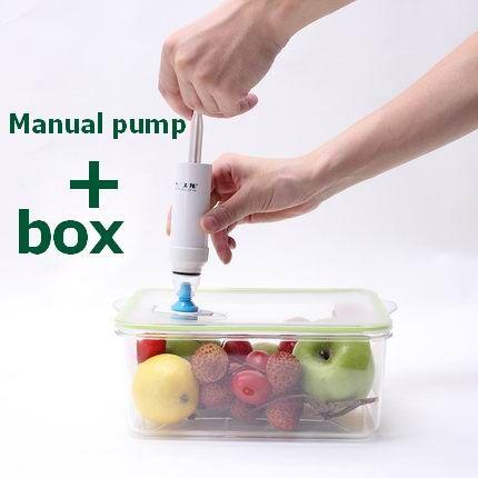Свежие поле холодильник свежие коробка для хранения продуктов коробка вакуумный мешок пластиковая Прямоугольник Пластика