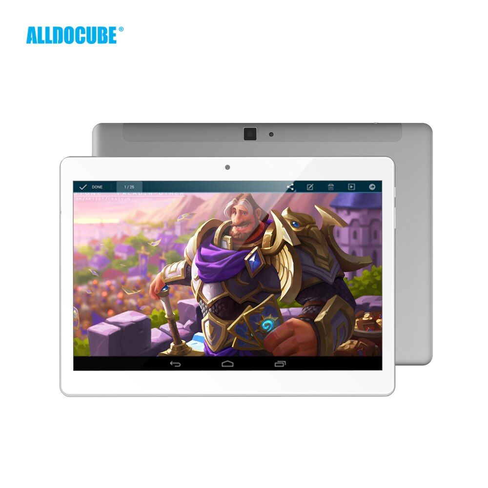 ALLDOCUBE M5 10.1 Inch 2560*1600 IPS 4G Phone Call Tablet PC Android 8.0 MTK X20 Deca core 4GB RAM 64GB ROM GPS WIFI Phablet