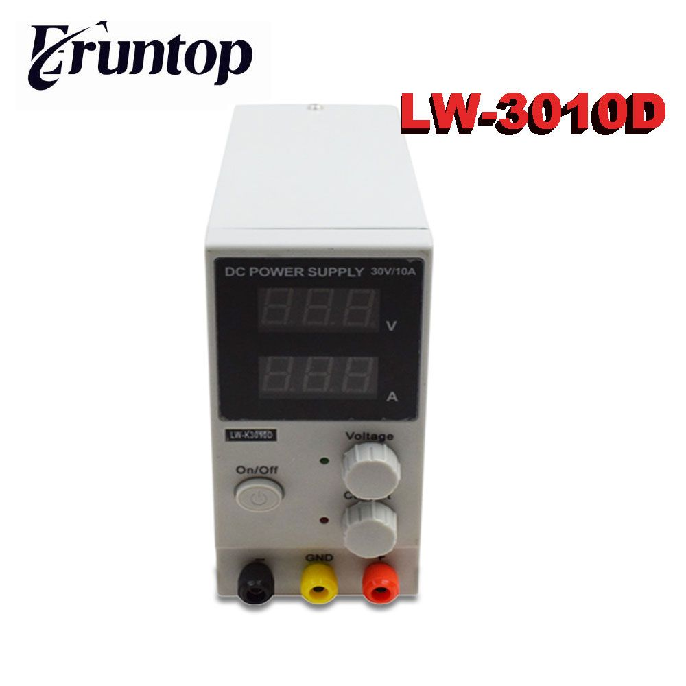 Variable Input 110V OR 220V LW- K3010D 30V 10A Mini Switching Regulated Adjustable DC Power Supply SMPS Single Channel