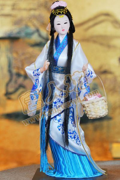Decoration Arts crafts girl gifts get married 2 color mail, abroad gift, four beauties, beauty Xi COSTUME ART * Chinese wind cha