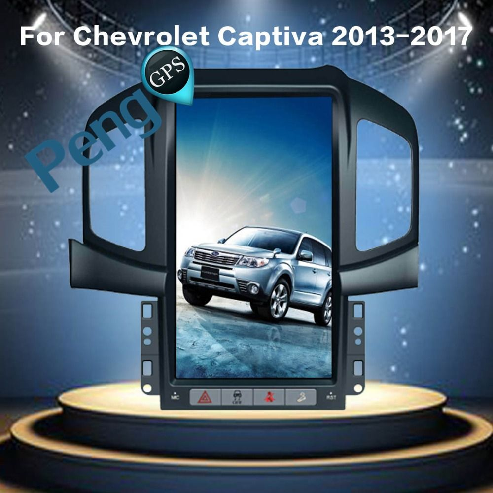 Tesla Stil Android 6.0 Quad Core Auto GPS Navigation DVD Player für Chevrolet Captiva (Fabrik Navi) 2013 2014 2015 2016 2017