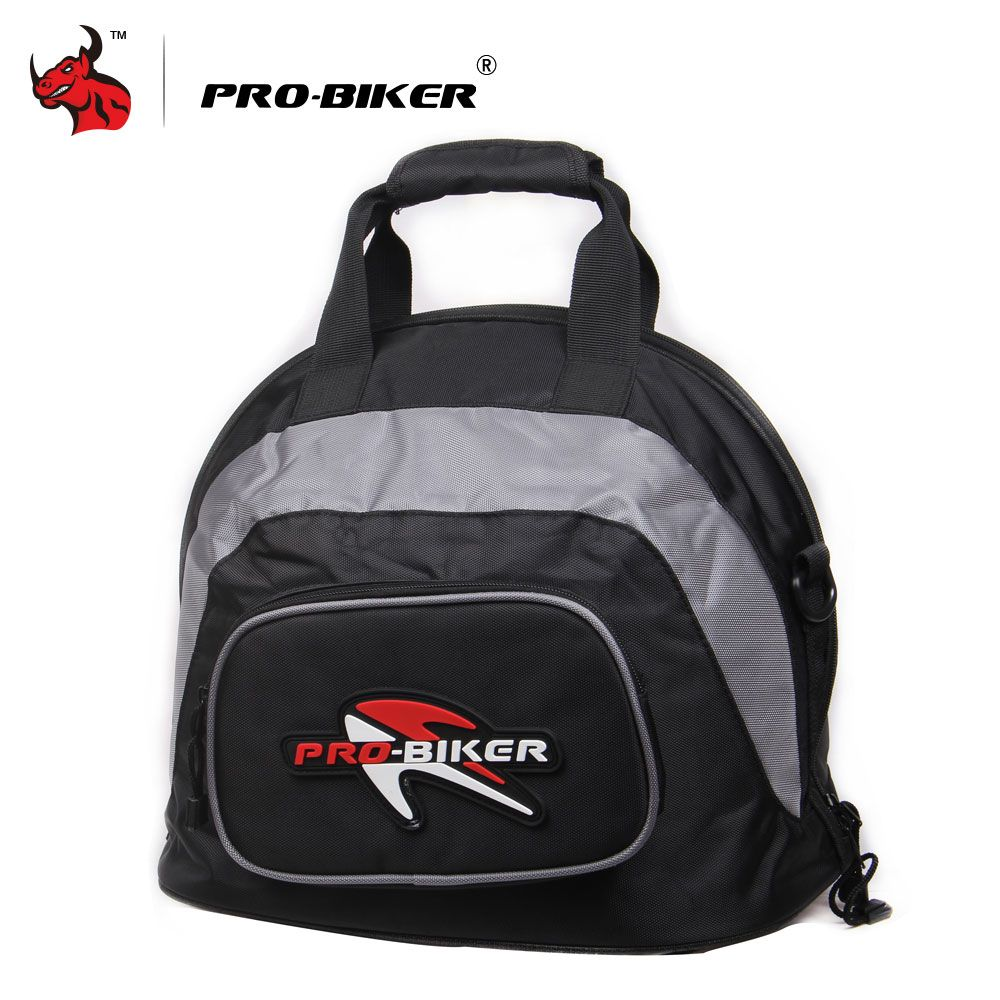 PRO-BIKER Motorcycle Riding Helmet Bag Waterproof High Capacity  Tail Bag Knight Travel Luggage Case Handbag Backpack Tool Bag