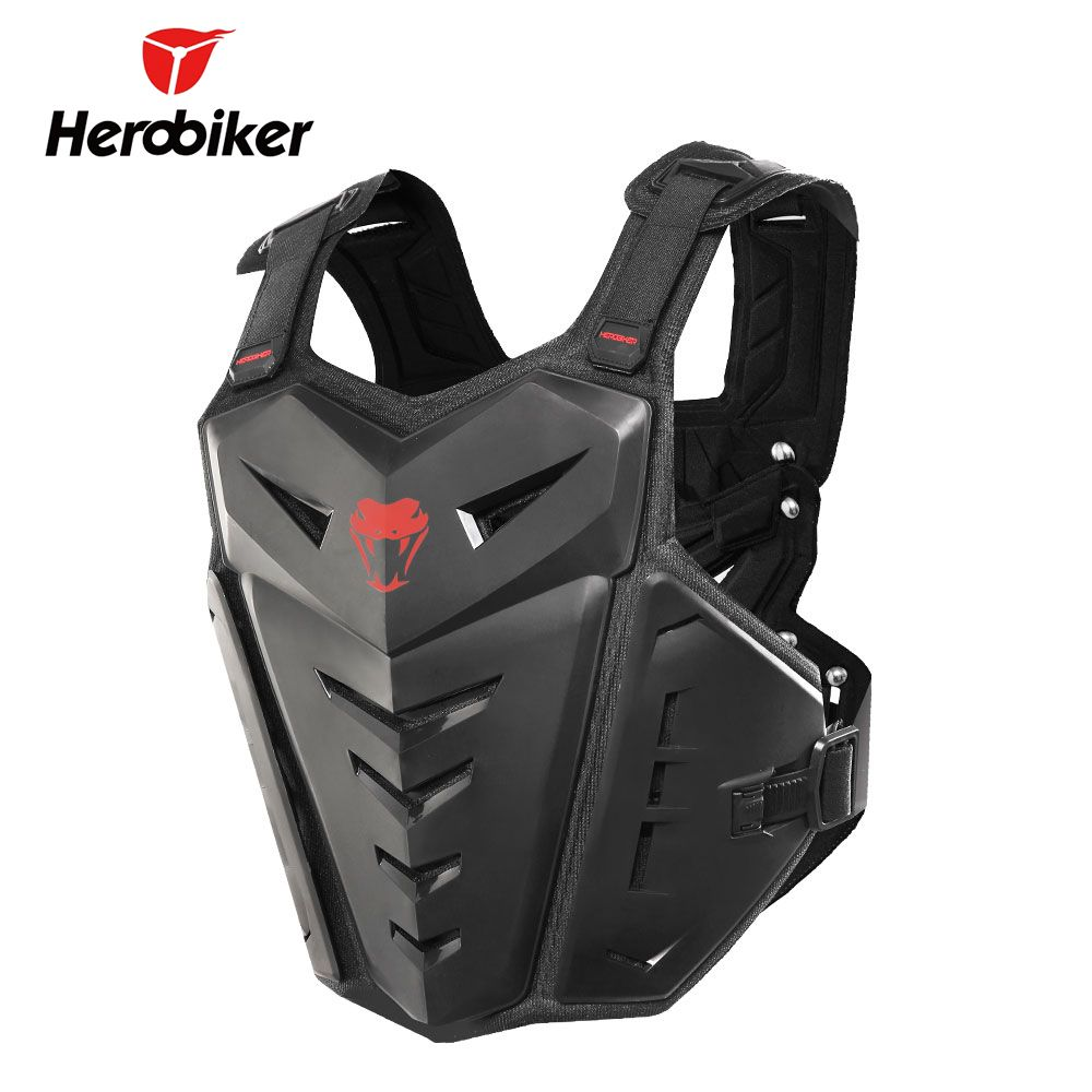 HEROBIKER Motorcycle Protection Motocross Racing Armor Motorcycle Riding Body Protection Jacket With A Reflecting Strip MC1007