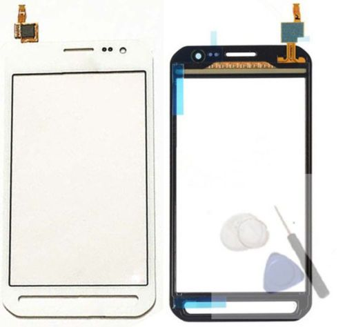 For Samsung Galaxy Xcover 3 G388 G388F Black / White/ Grey Color Digitizer Touch Screen Panel Sensor Lens Glass With +tools