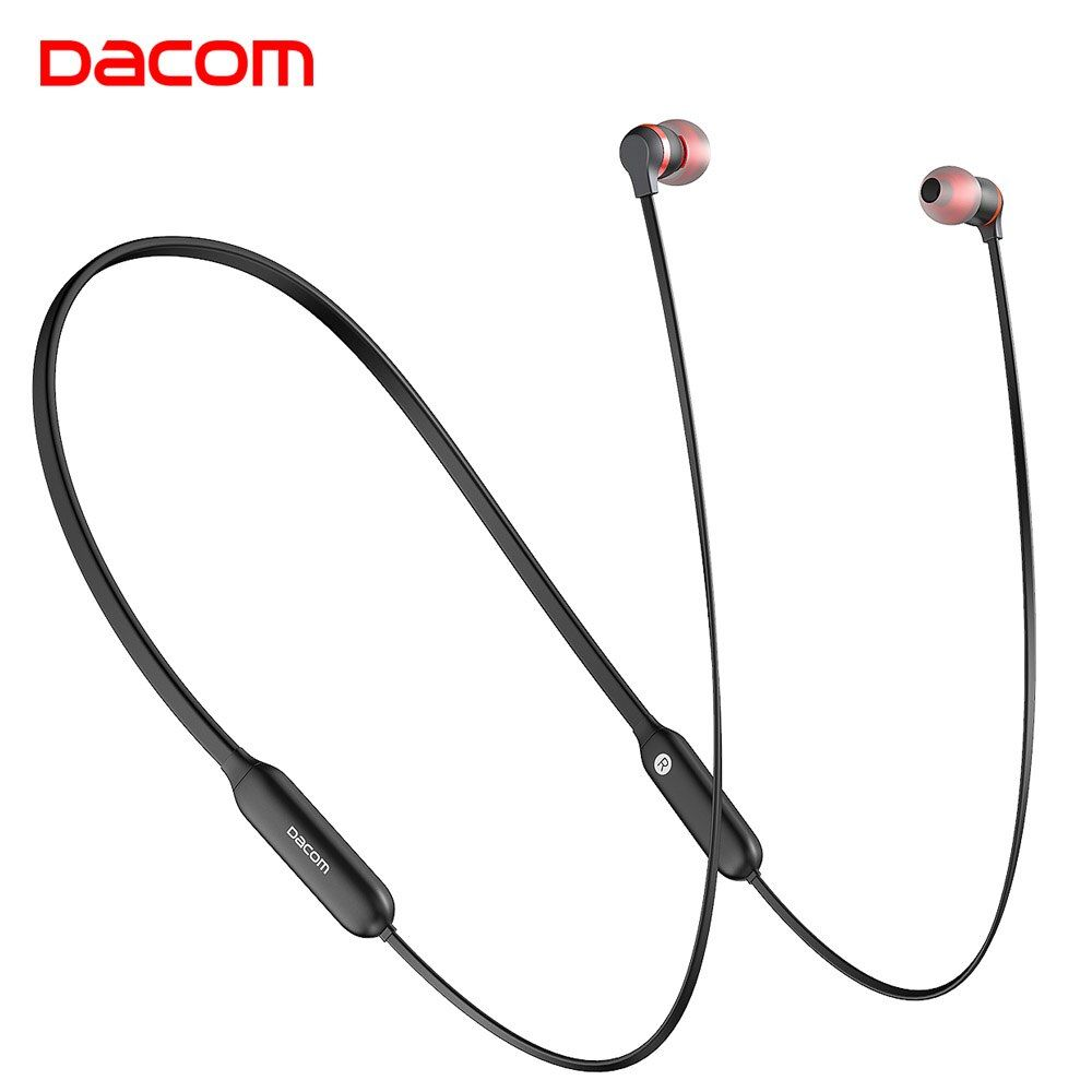 Dacom L06 Wireless Headphones Bluetooth Earphone Sports Bass in Ear Monitor HiFi Neckband Sweatproof Earphones Stereo Headset