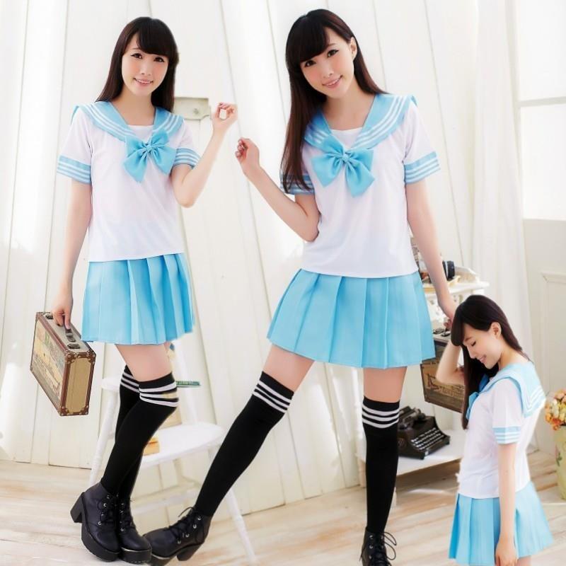 Japón y Corea del Sur traje de marinero trajes anime cos Japón escuela académica estudiante uniformes uniforme escolar japonés