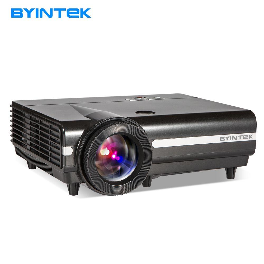 BYINTEK MOON BT96Plus голограмма 200 дюйма светодиодный видео HD проектор для домашнего Театр Full HD 1080 P (опционально Android 6,0 Поддержка 4 К)