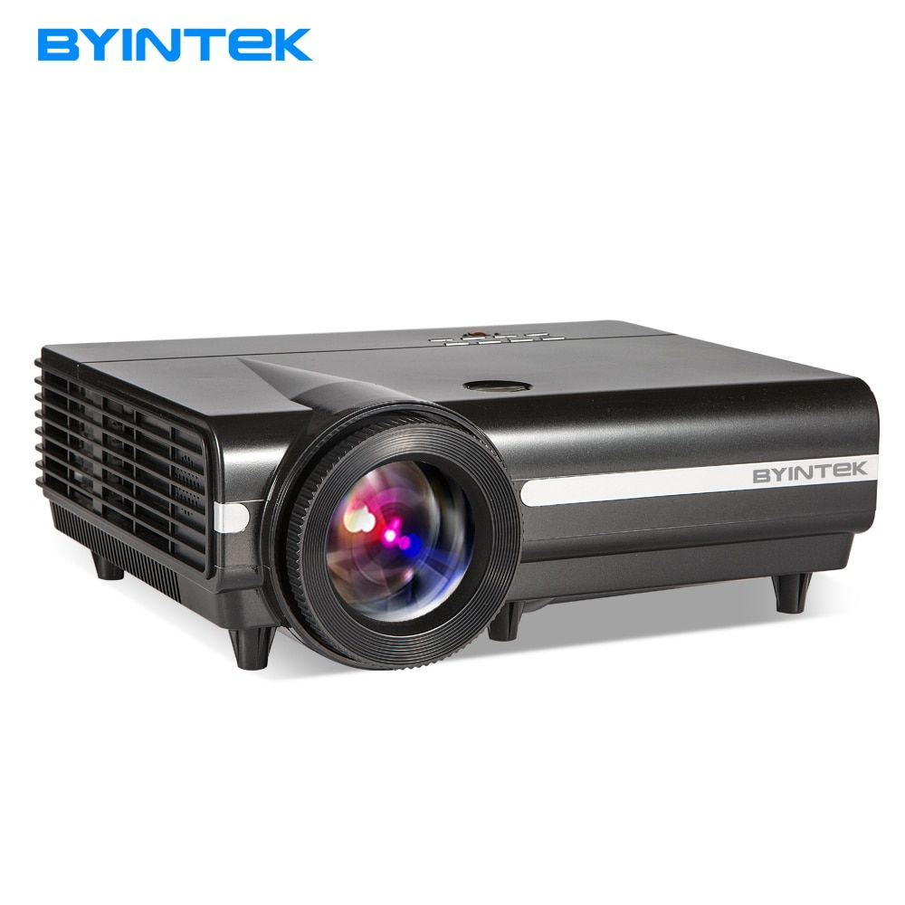 Projector MOON BT96Plus BYINTEK Home Theater,dustproof, Support Full HD 1080P (Optional Android6.0 Version Support 4K Video)