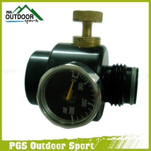 Paintball Airsoft BB régulateur de pistolet pour Co2 et HPA pression d'entrée de contrôle de pression 1000psi, pression de sortie 0-200psi