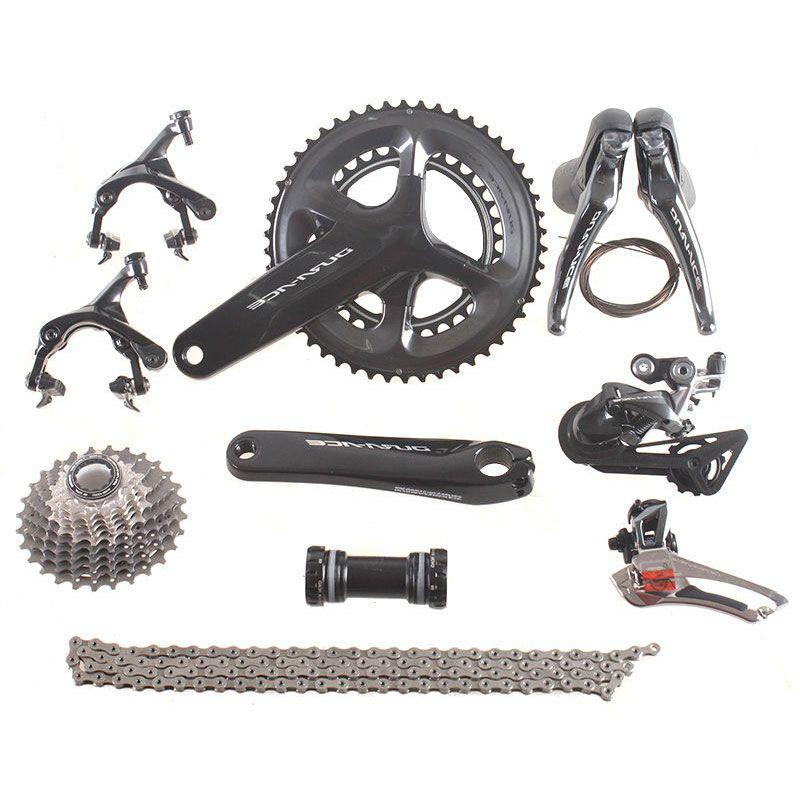 Shimano DURA ACE R9100 Road Bike Groupset 2x11 Speed 53x39T 50x34T 52x36T 170 172.5mm Groupset Kit for Road Bike Bicycle