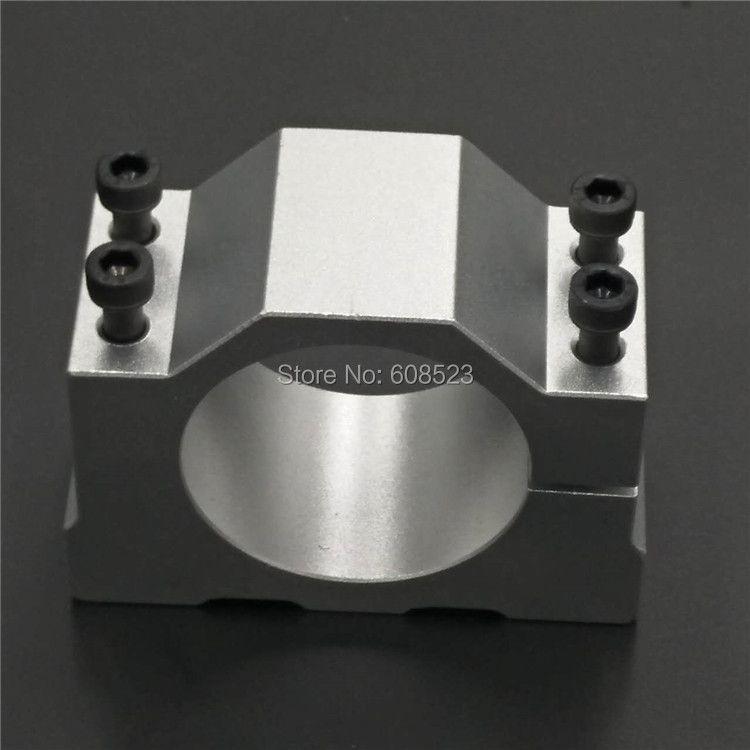 80mm spindle motor bracket seat cnc carving machine clamp motor holder aluminum for 80mm spindle motor