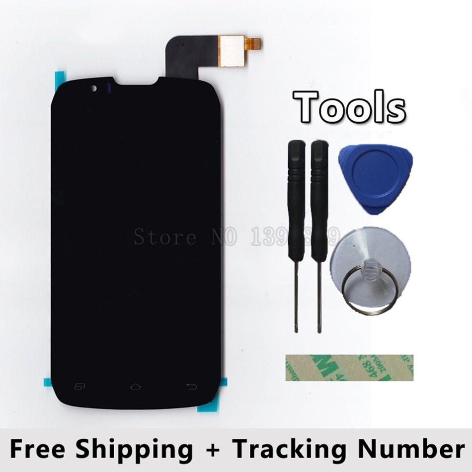 LCD Display + Touch Screen Digitizer Glass Panel For DNS S4502 S4502M DNS-S4502 Highscreen boost Cloudfone Thrill430X