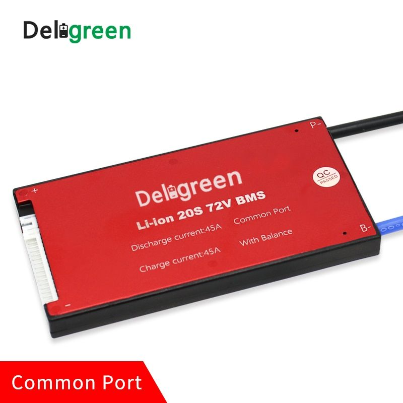 20S 60A PCM/PCB/BMS for 60V 72V lithium LiPO4 battery pack for electric bicycle and scooter and tools,back up,solar energy